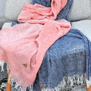 Loose Merino Wool Throws