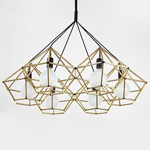 Rough Diamond Chandelier