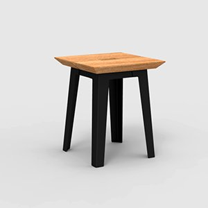 Tonka Low Stool