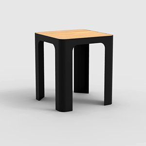 Boardwalk Low Stool