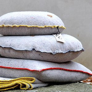 Recycled Wool Cushion