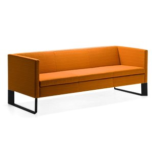 Quoin Stainless Steel Frame Sofa